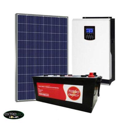 Kit Solar Fotovoltaico 1500Wh/dia