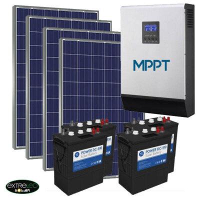 Kit Solar Fotovoltaico 6500Wh/dia